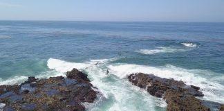 Du würdest diese Welle als unsurfbar definieren