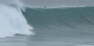 Der Tag des Monsterswells in Uluwatu