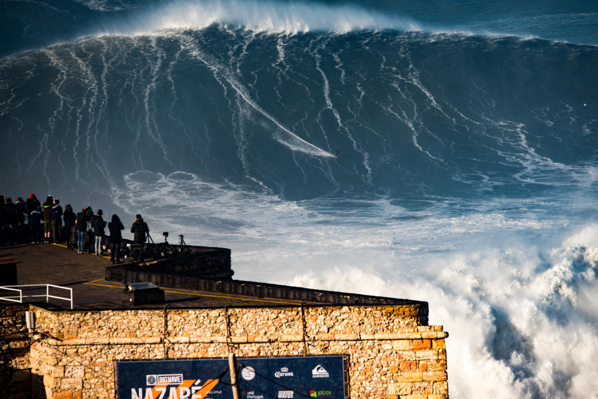 Nazare Causes Confusion Who Surfs The Biggest Wave In The