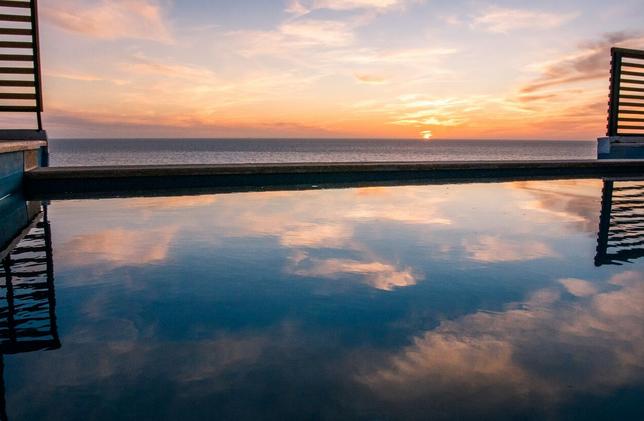 Surfcamp Marokko Infinity Pool