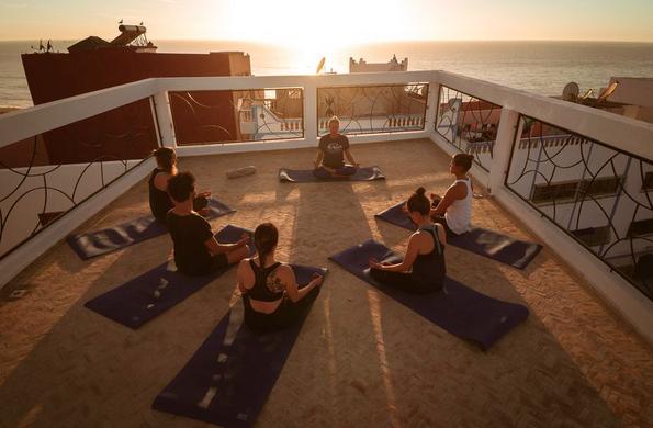 Pure Surfcamps Marokko Yoga