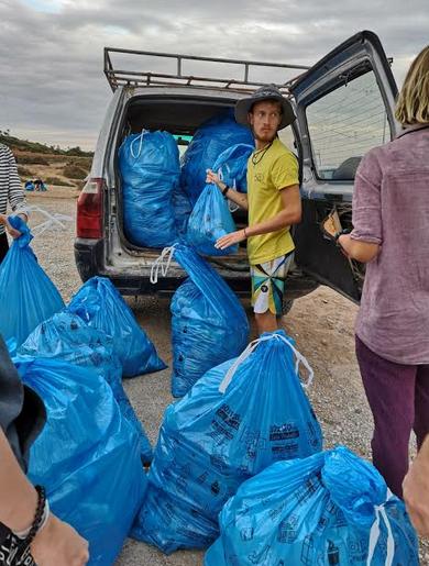 Marokko Beach Clean Up