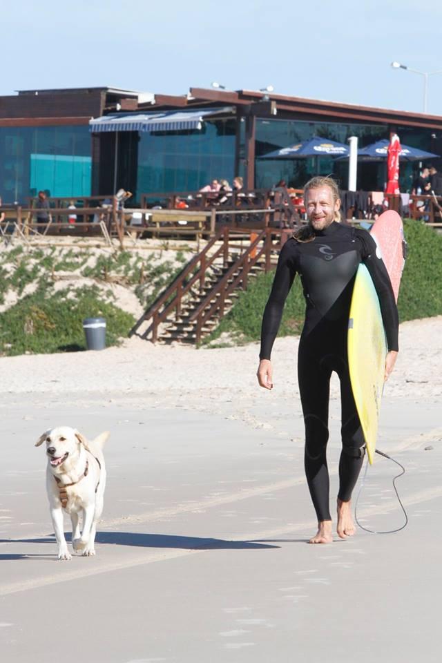 Joe und sein Hund Djanga