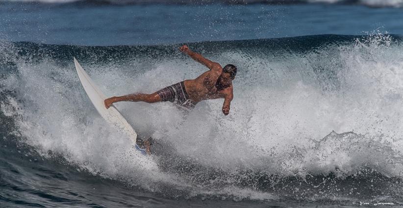 Surfen auf La Reunion