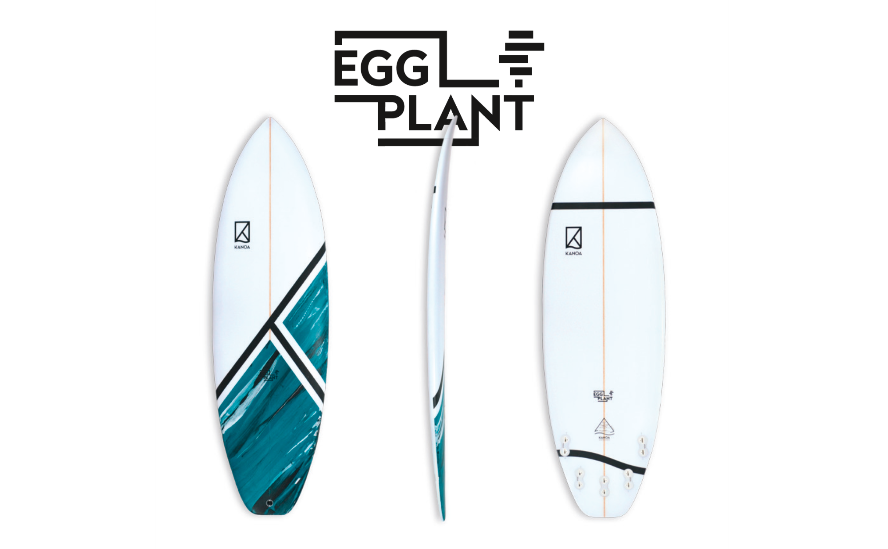 Surfboards für den Sommer in Frankreich - Kanoa Egg Plant