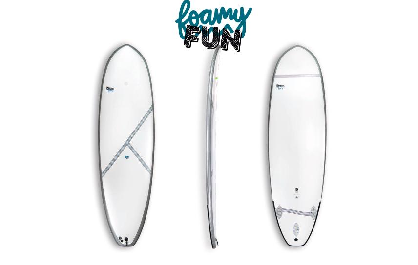 Surfboards für den Sommer in Frankreich - Kanoa Foamy Fun