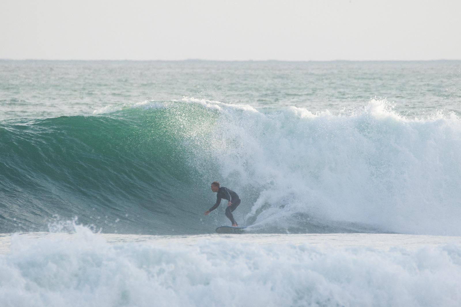 Die Wellen von Zavial liegen nur eine kurze Autofahrt von Hardys Arbeitsplatz entfernt und sind einer der Gründe, wieso Hardy sich durchaus vorstellen könnte, für immer in Portugal zu leben.
