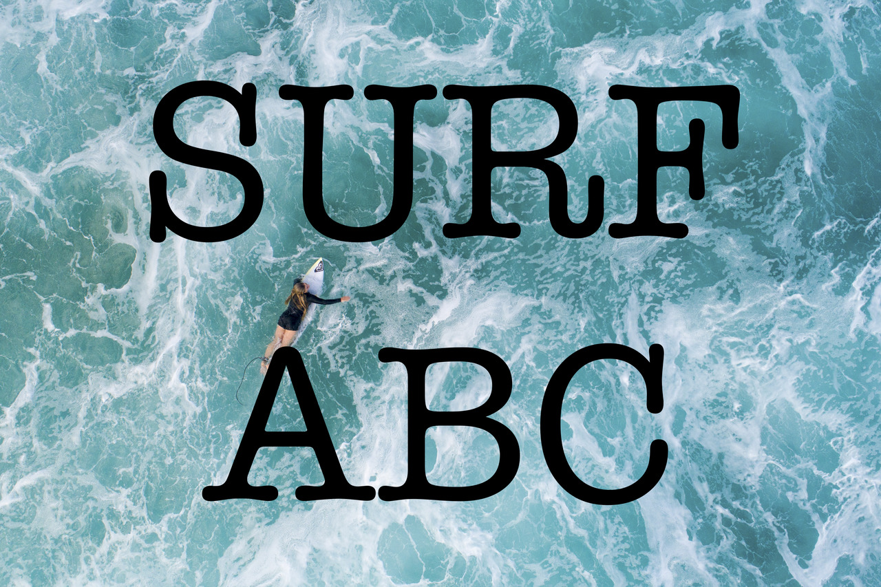 Surf ABC Part 2 // G bis L