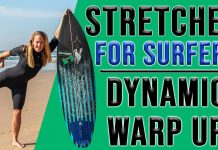 Surfen lernen - Dehnübungen surfen