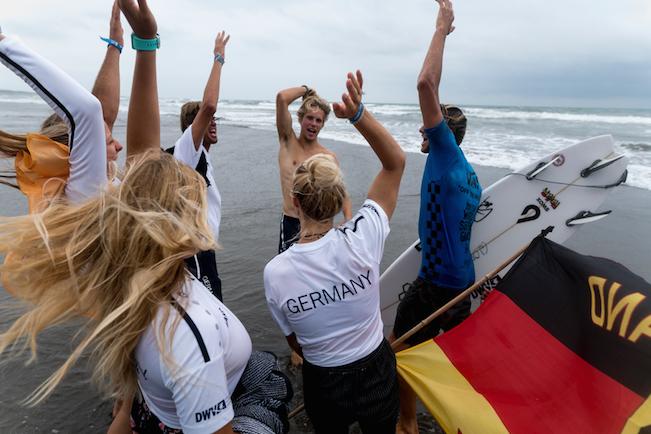Surf Team Germany belegt Platz 12 in Japan