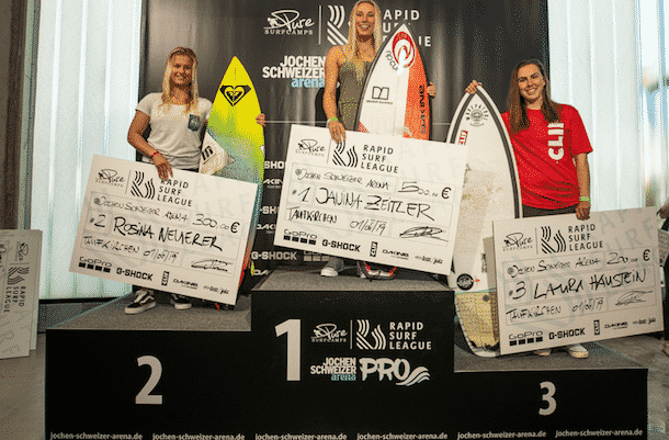Laura Haustein Rapid Surf League