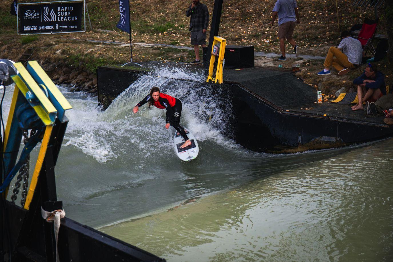 Rapid Surf League Sieger: Laura Haustein und Nicolas Marusa