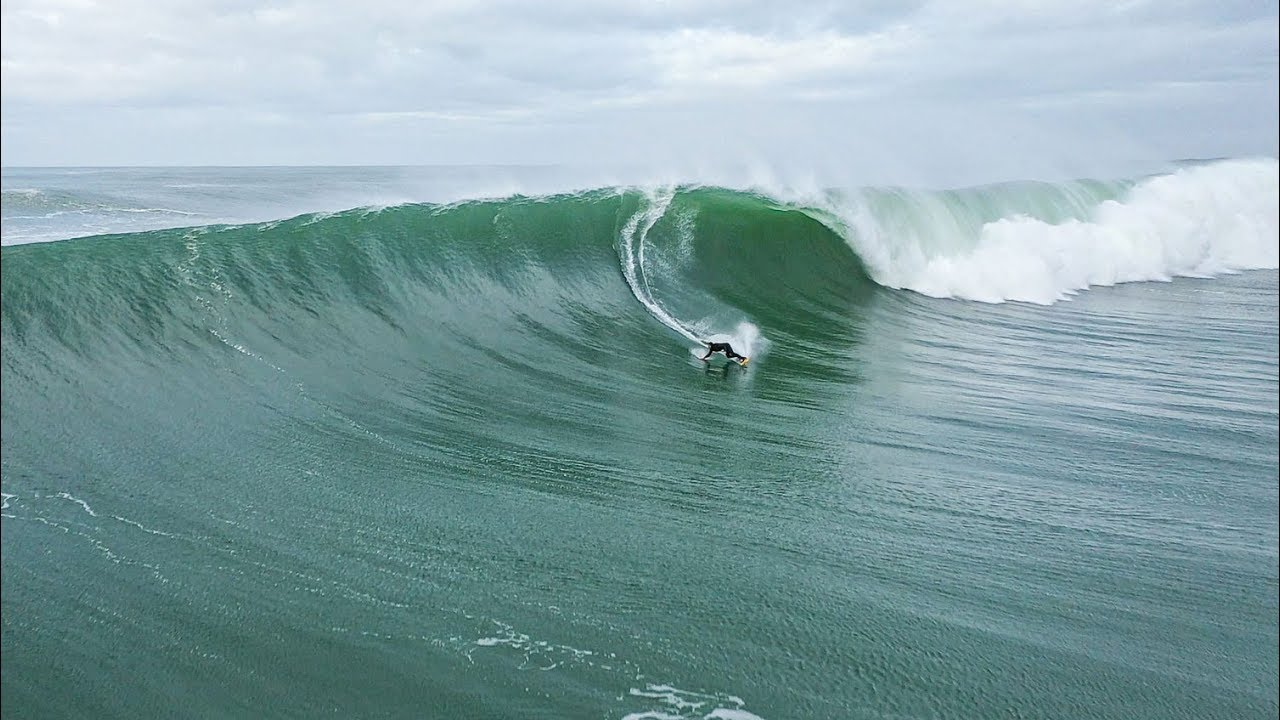 Big Wave Session in Hossegor