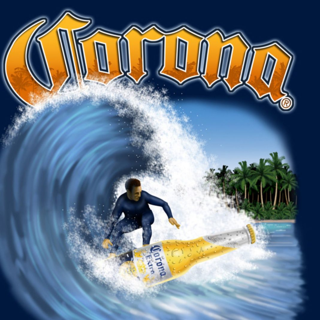 Surfen und Corona