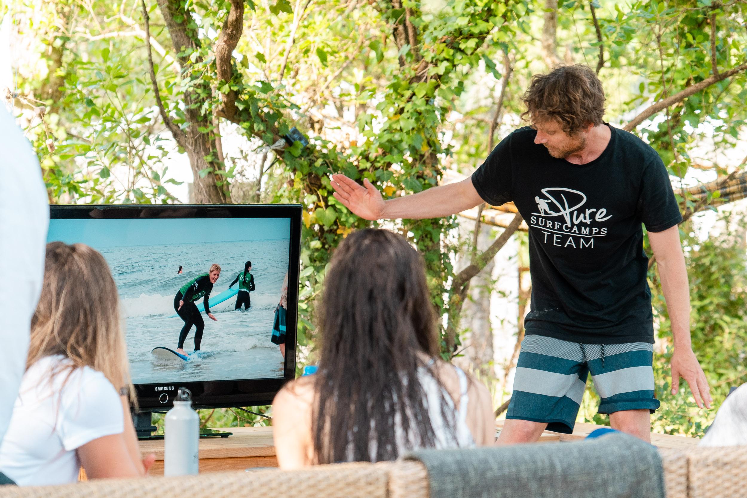Surfcamp für Erwachsene Video Coaching